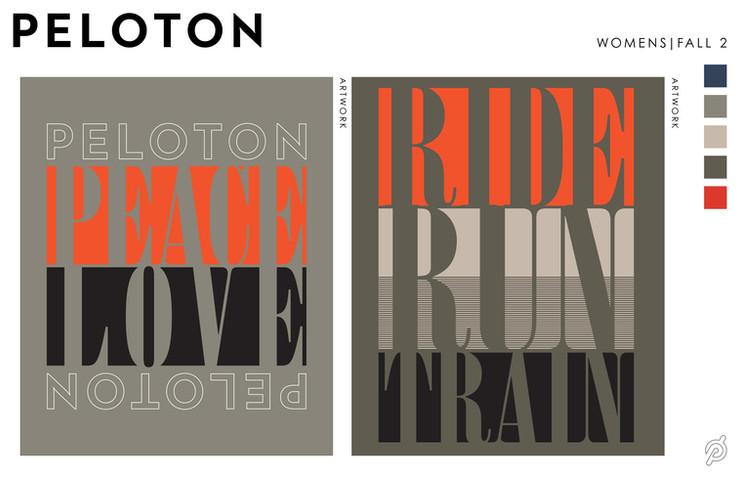 Peloton | Lifestyle Graphic Concepts