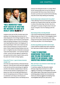 Jan Chappell interview Page 2