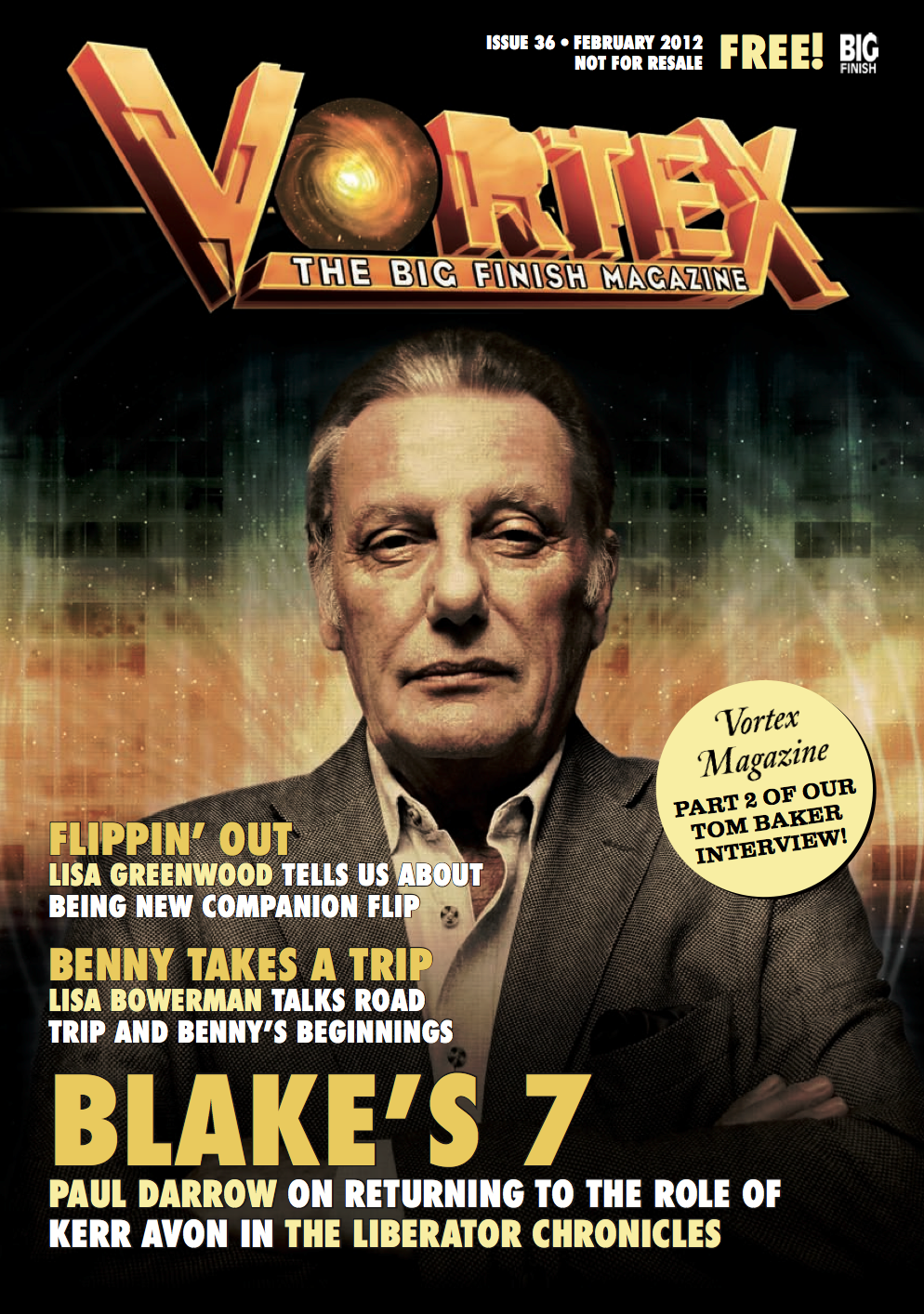 Vortex Issue 36 Cover