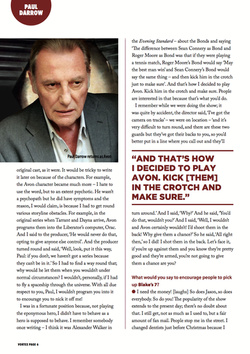 Paul Darrow Interview Page 3