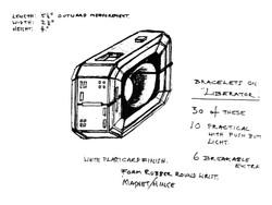 Teleport Bracelet original design