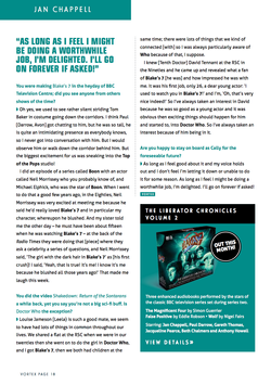 Jan Chappell interview Page 3