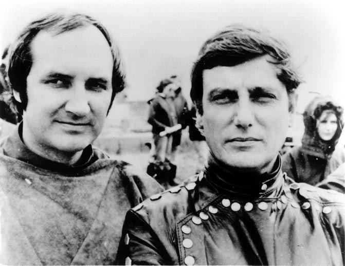 Michael Keating and Paul Darrow