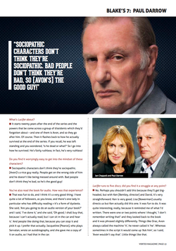 Paul Darrow Interview: Page 2
