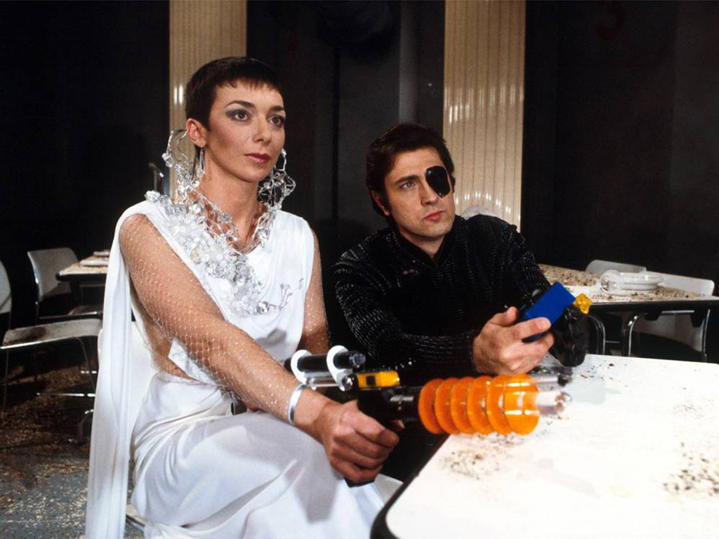 Servalan and Travis
