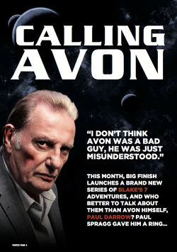 Paul Darrow Interview Page 1