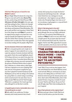 Paul Darrow Interview Page 2
