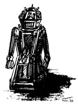 Robot design sketch