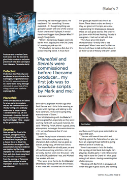 TOM CHADBON INTERVIEW: PAGE 2