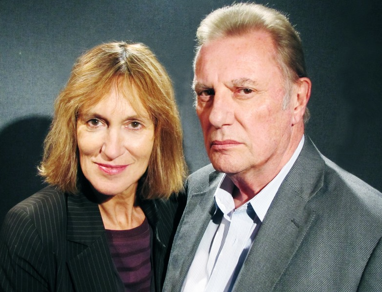 Jan Chappell and Paul Darrow