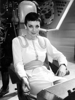 Servalan in charge