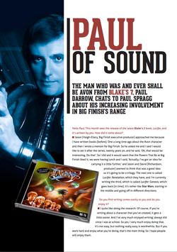 Paul Darrow Interview: Page 1