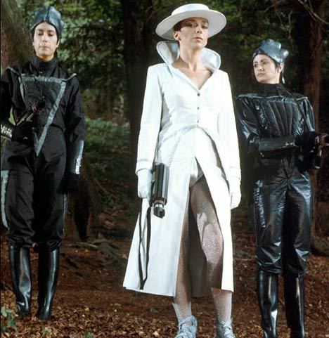 Servalan and her Mutoids