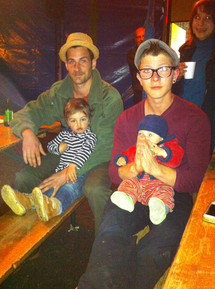 2014, Youri et Marius, Vivian et Uma