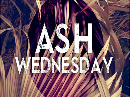 Ash Wednesday Service, Lee Rd. Baptist Church