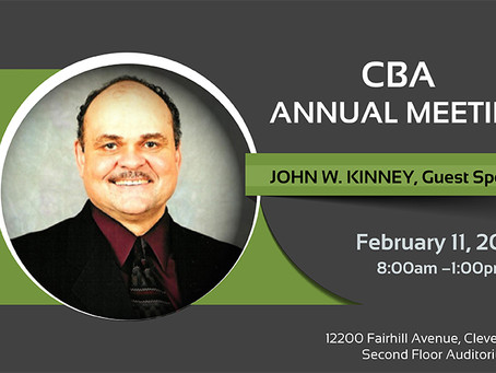CBA Annual Meeting Registration Open