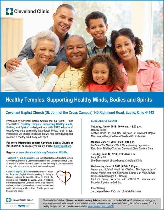Covenant Baptist Church & Cleveland Clinic Present:
