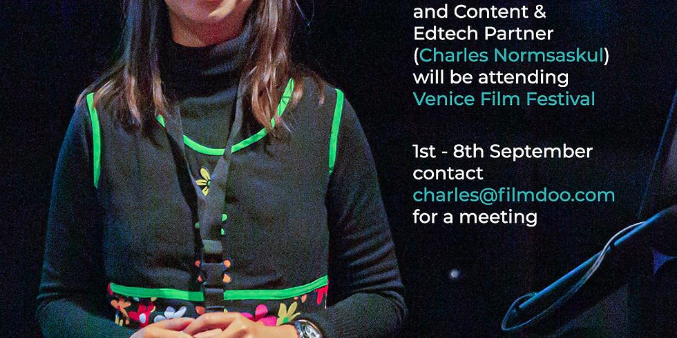 Weerada & Charles @ Venice Film Festival