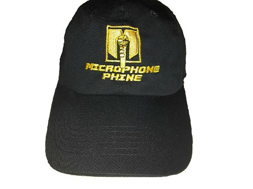 Limited Edition! Microphonephine Dad Cap (Black)
