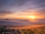 Haytor Vale Sunrise