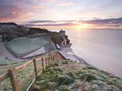 Sidmouth Winter Sunrise