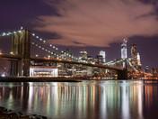 Brooklyn Bridge Reflections