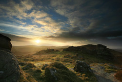 Dartmoor Moody Sunrise