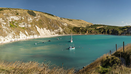 Lulworth Autumn Sun