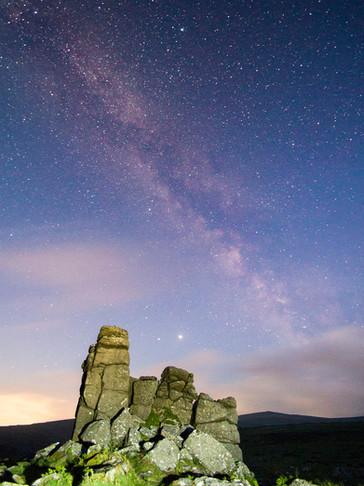 Milky Way at Priests Rock