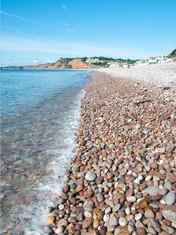 Along Budleigh Beach