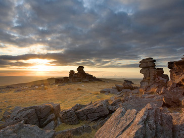 Staple Tor sunset