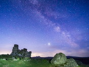Milky Way at Hound Tor