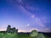 Milky Way at Hound Tor