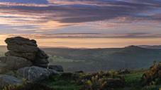 Holwell Tor Sundown