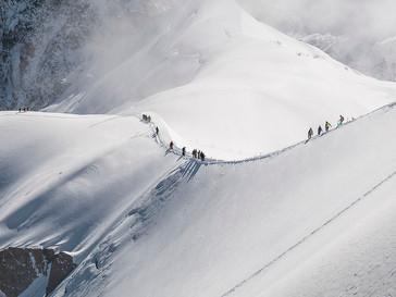 Heading Along the Ridge