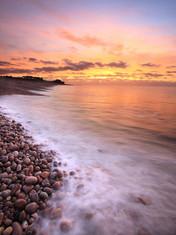 Budleigh Beach Sunrise