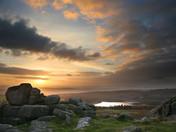 Sheepstor sunset