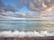 Budleigh out to sea