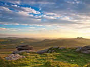 Sunrise from Rippon Tor