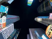 Times Square Fisheye