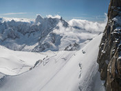 The Alps from the Midi