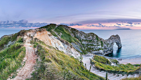 Durdle Door and Man of War Cove