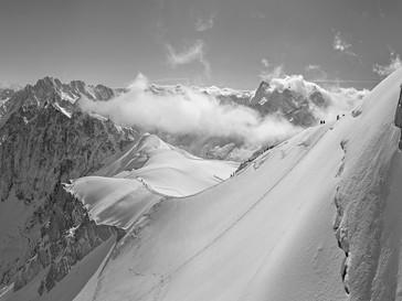 Mont Blanc Ridge