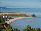 Budleigh evening from the cliffs