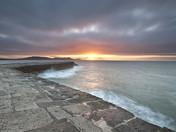 Lyme Regis Cobb Sunburst