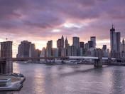 Brooklyn Bridge and the City