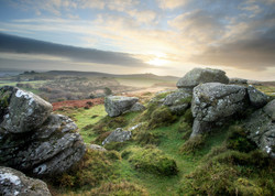 Sunrise at Honeybag Tor