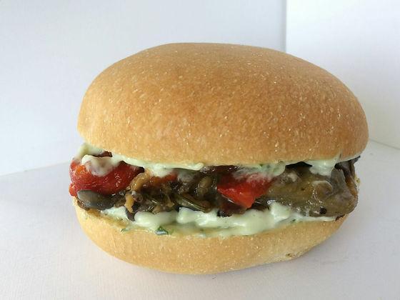 Hamburguesa Vegetariana Gluno's