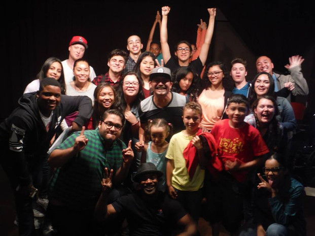 Lomabardo and Clubhouse Actors.jpg
