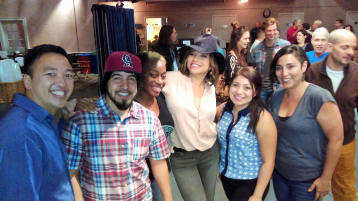 Tisha Campbell and Clubhouse actors on s